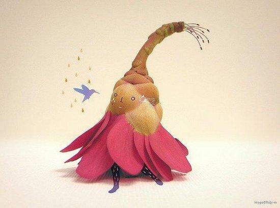 创意图片:花朵姑娘 休闲娱乐,预览图2