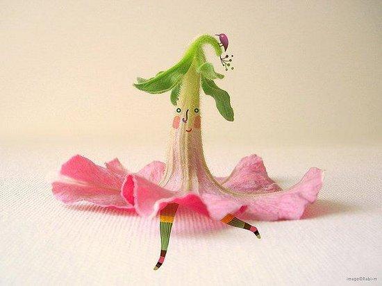 创意图片:花朵姑娘 休闲娱乐,预览图9
